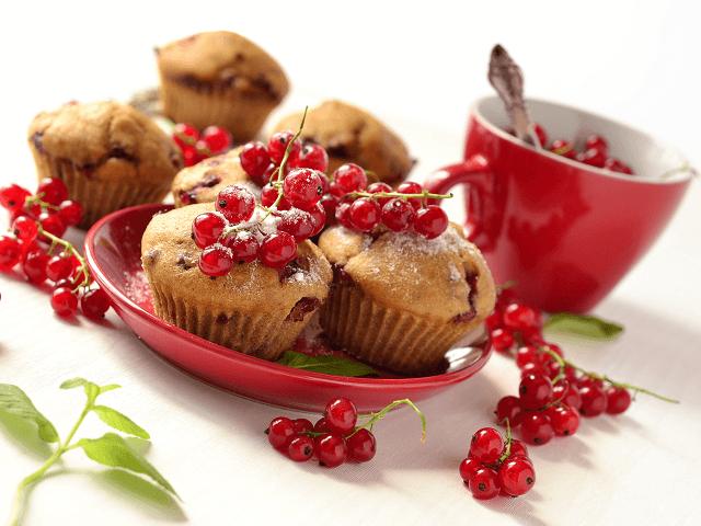 Ríbezľový muffin